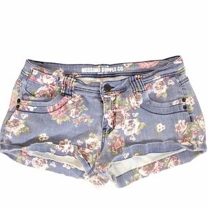 {Mossimo supply Co.} rose Jean shorts